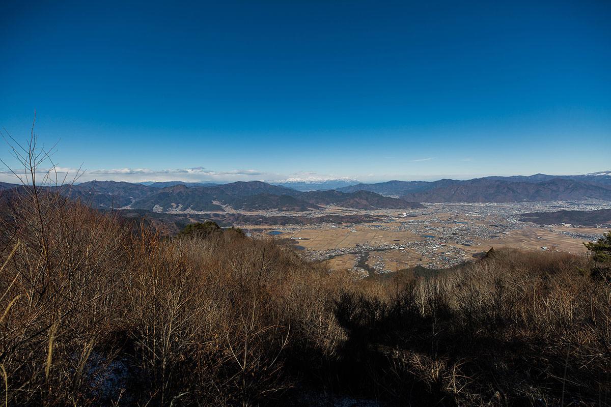 【独鈷山】登山百景-北側に上田市街