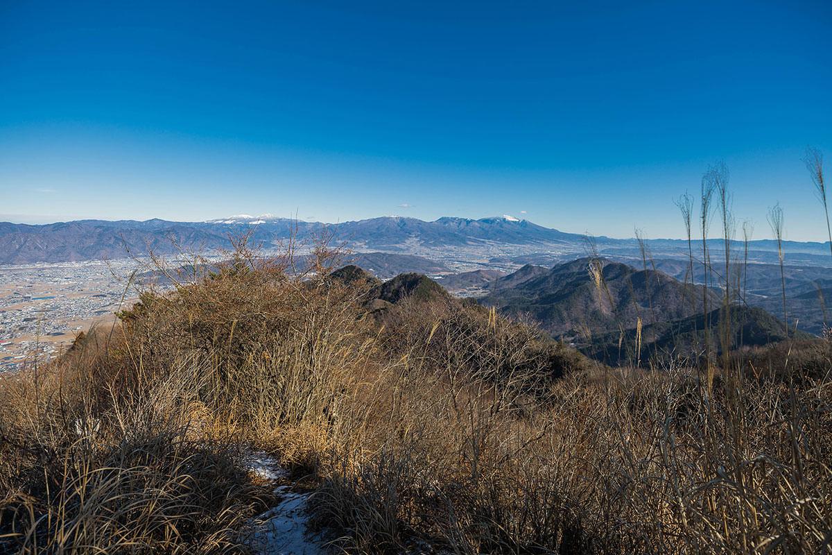 【独鈷山】登山百景-東側に浅間山
