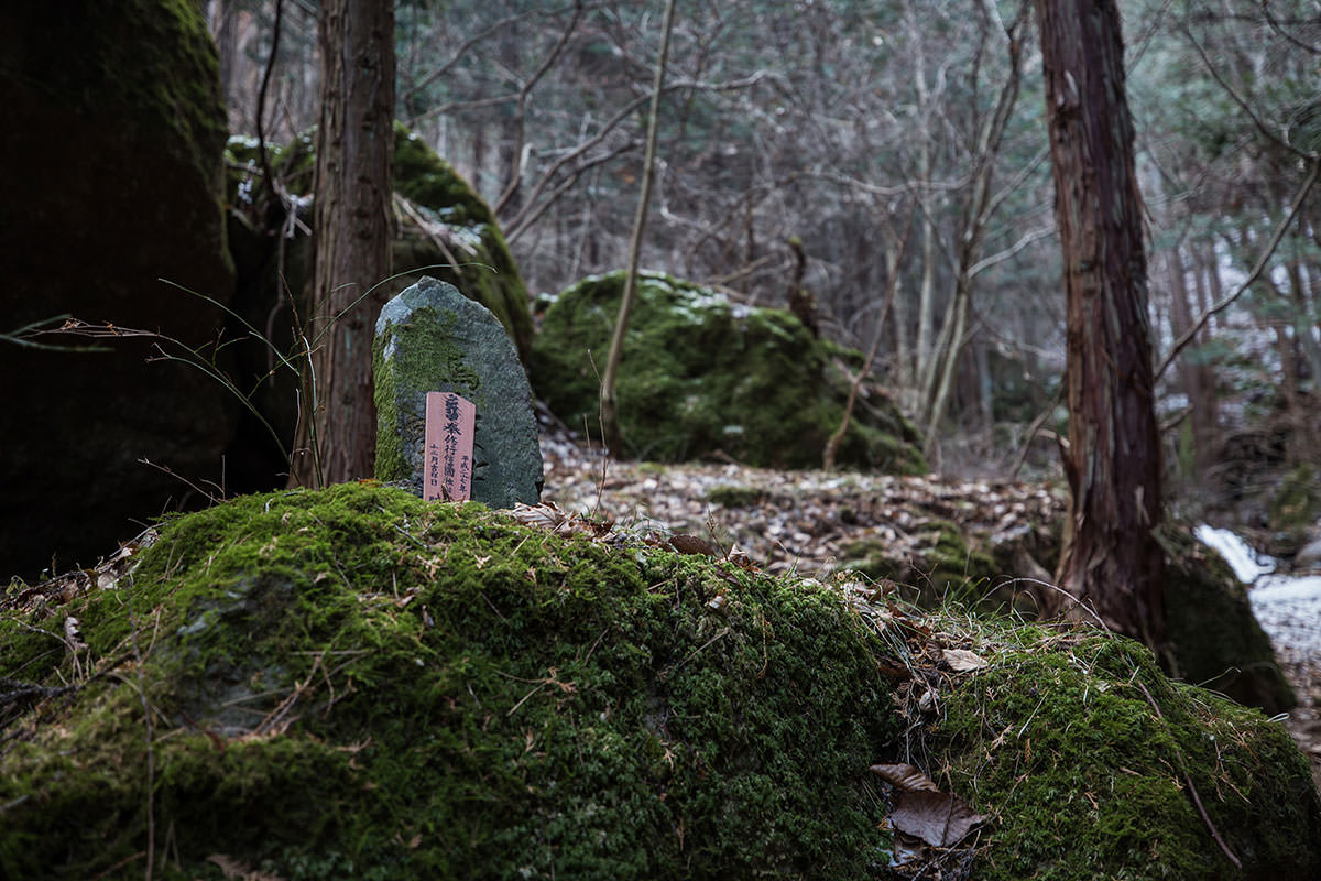 【独鈷山】登山百景-石仏