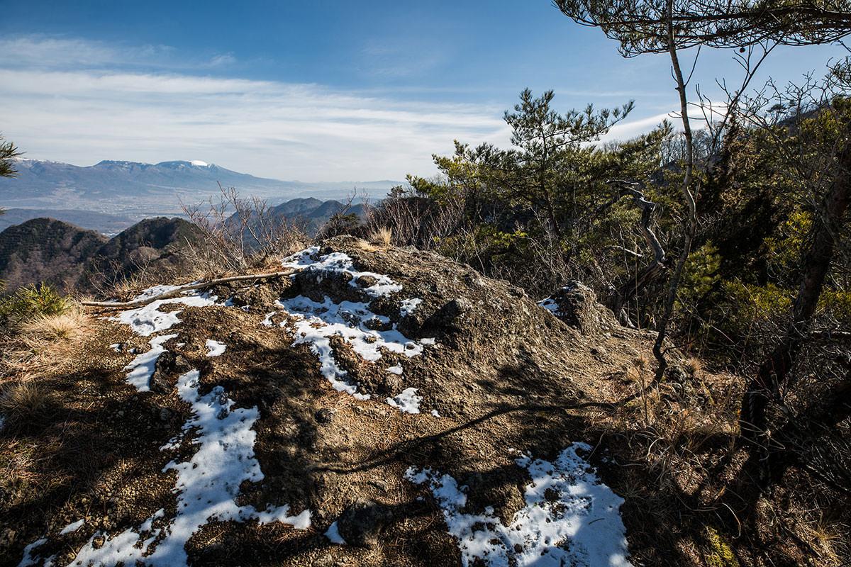 【独鈷山】登山百景-眺めが良い
