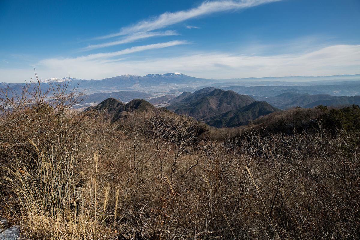 【独鈷山】登山百景-浅間山