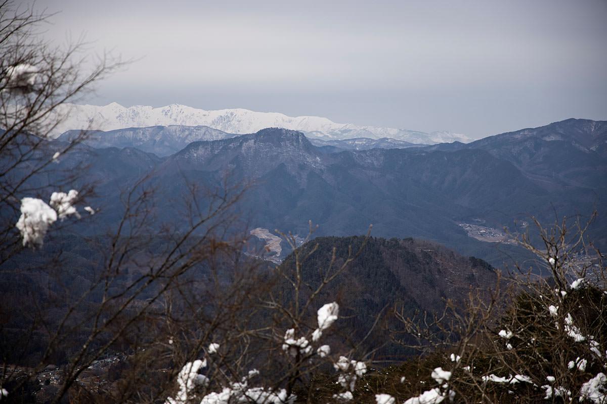 独鈷山-子壇嶺岳と北アルプス
