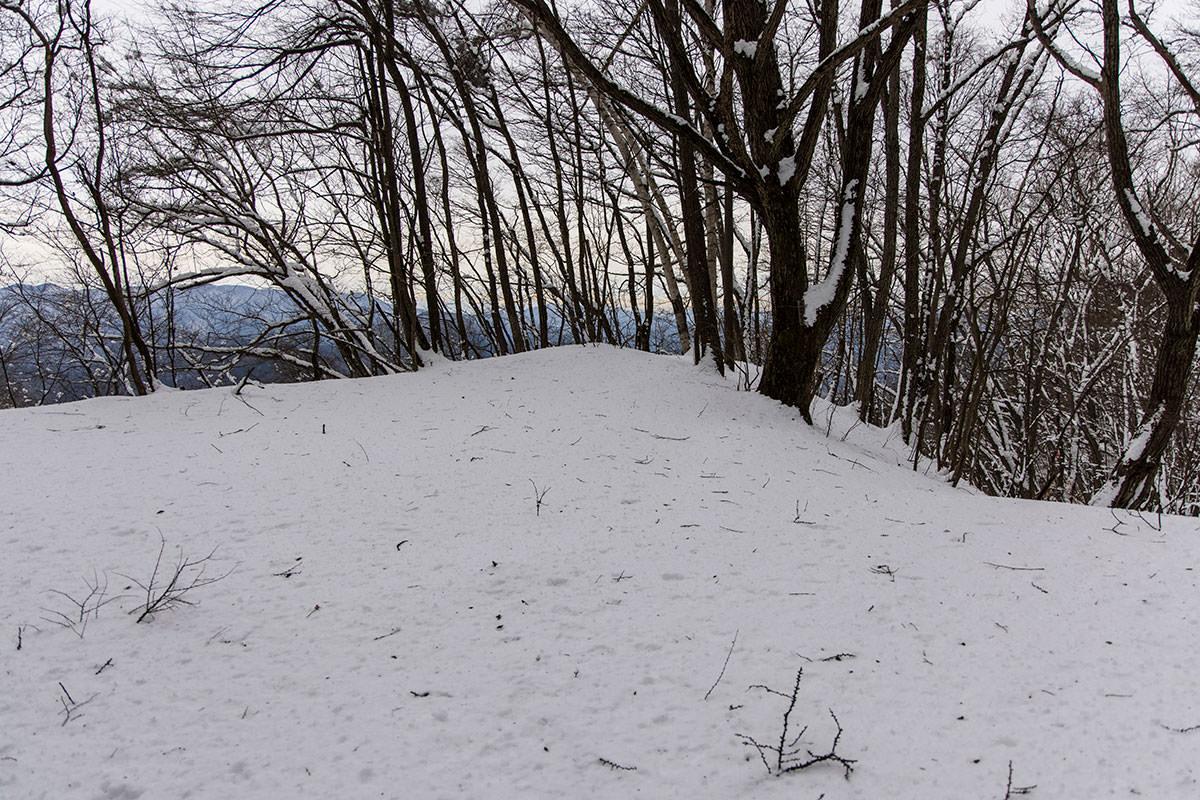 独鈷山-少し登った広い場所は西前山コースとの合流地点