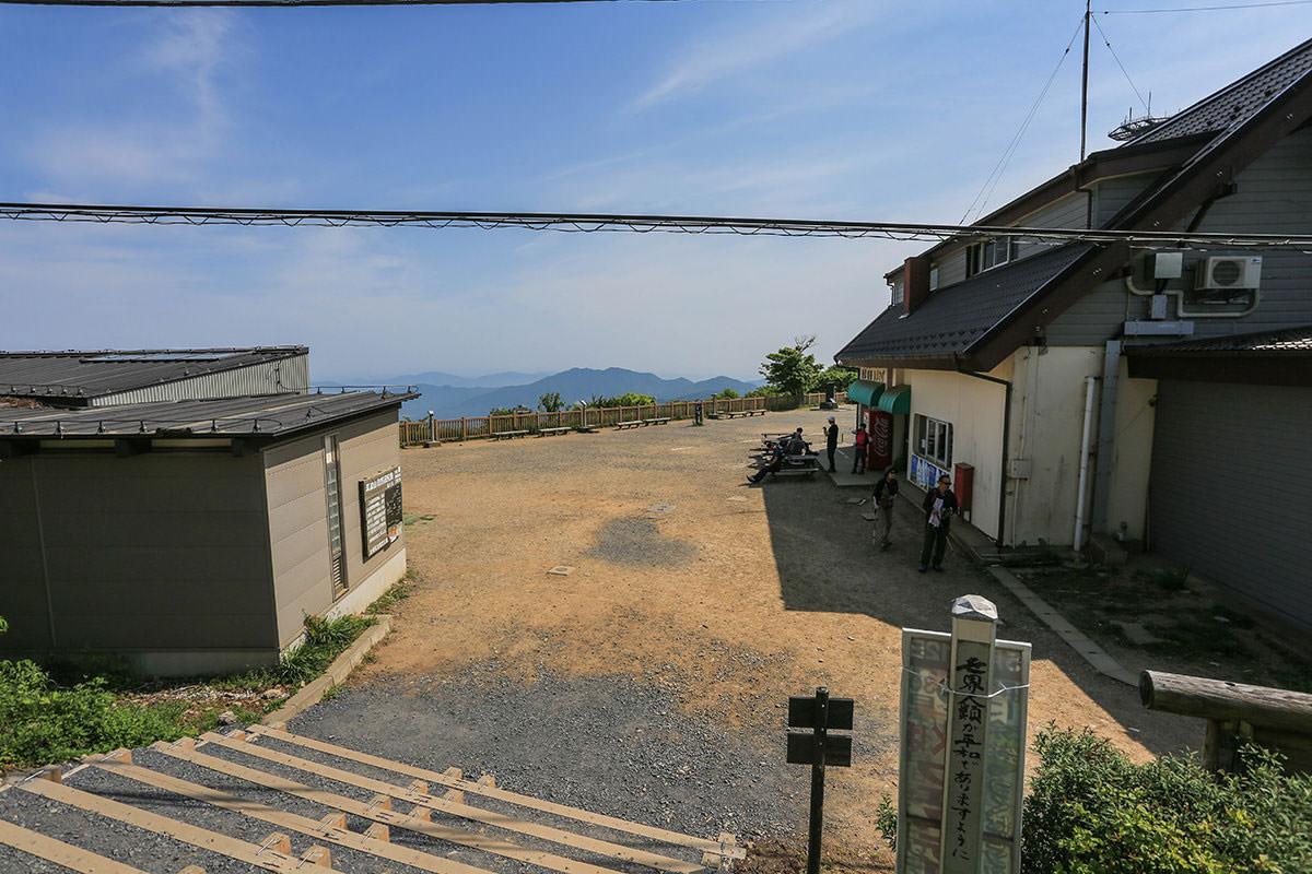 【筑波山】登山百景-御幸ヶ原を振り返る