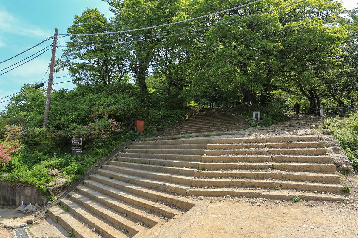 【筑波山】登山百景-女体山への入口