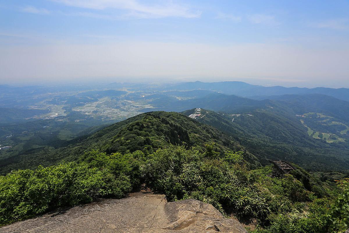 【筑波山】登山百景-東側の景色