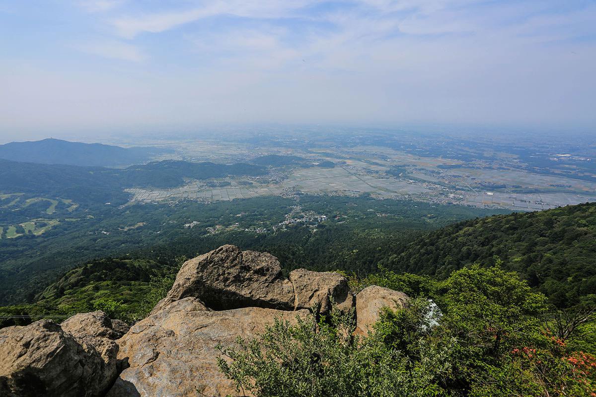 【筑波山】登山百景-西側の景色