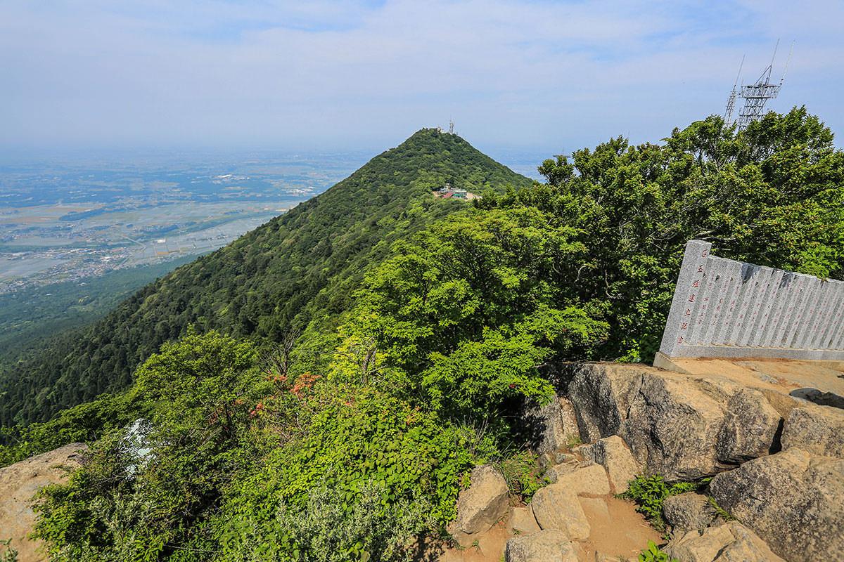 【筑波山】登山百景-男体山が見える