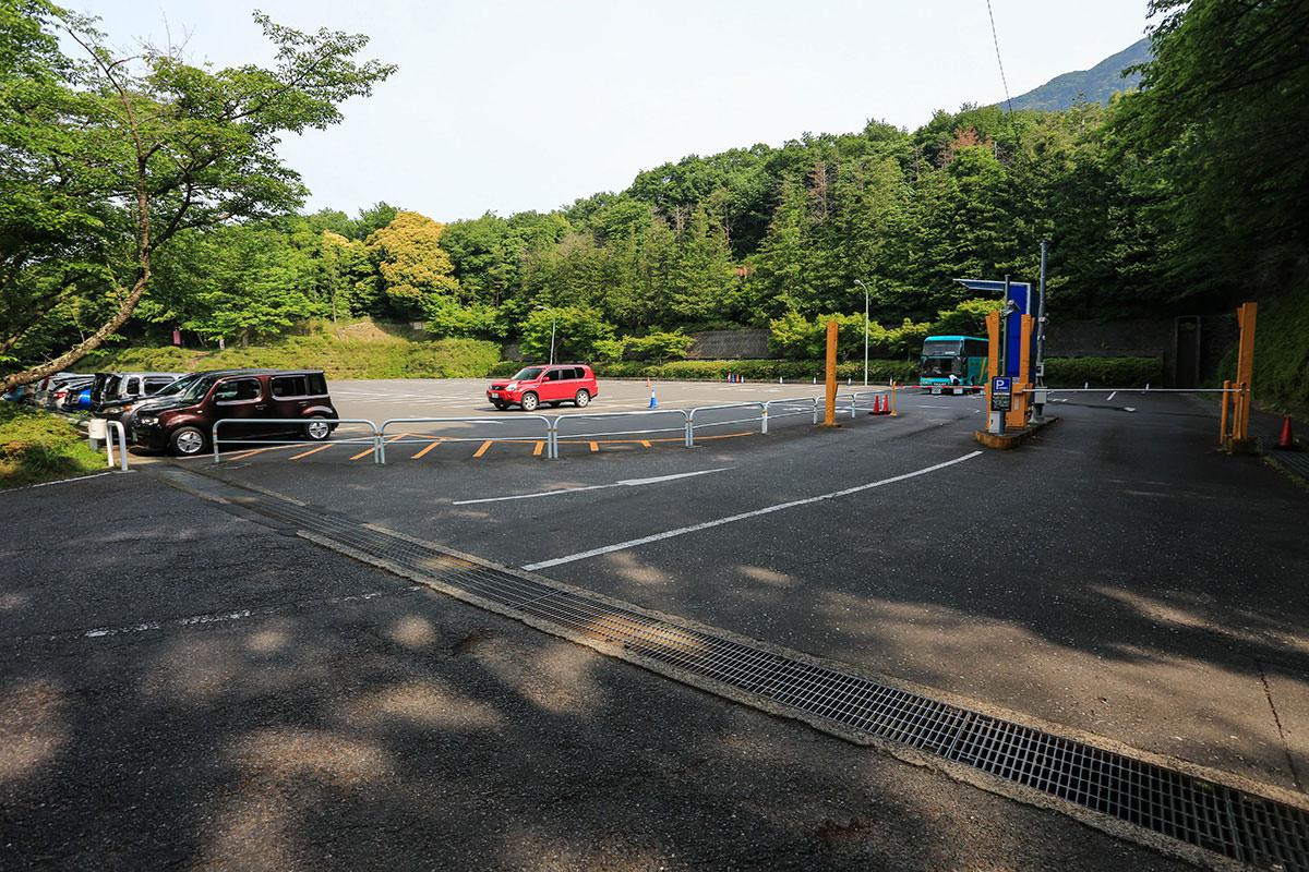 【筑波山】登山百景-市営駐車場に停める