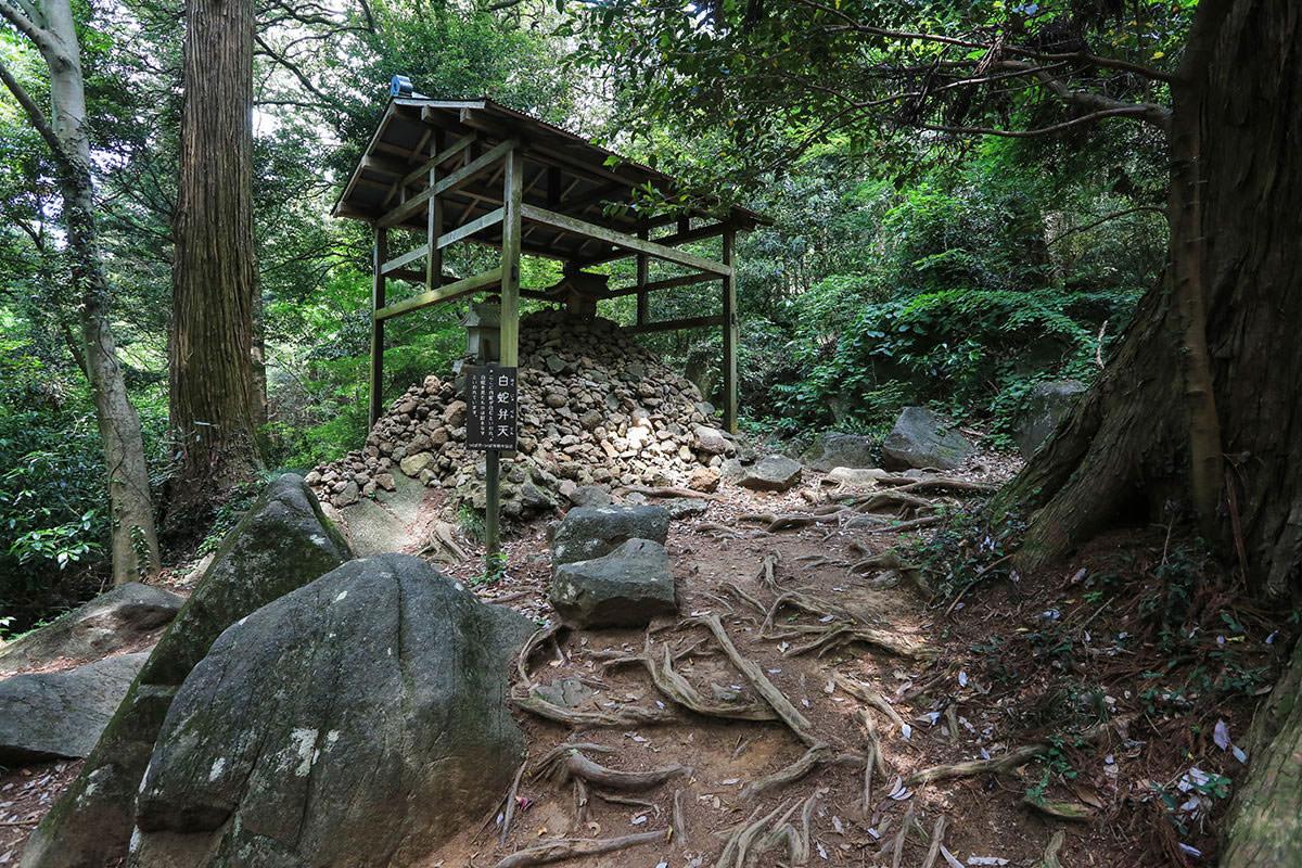 【筑波山】登山百景-白蛇弁天