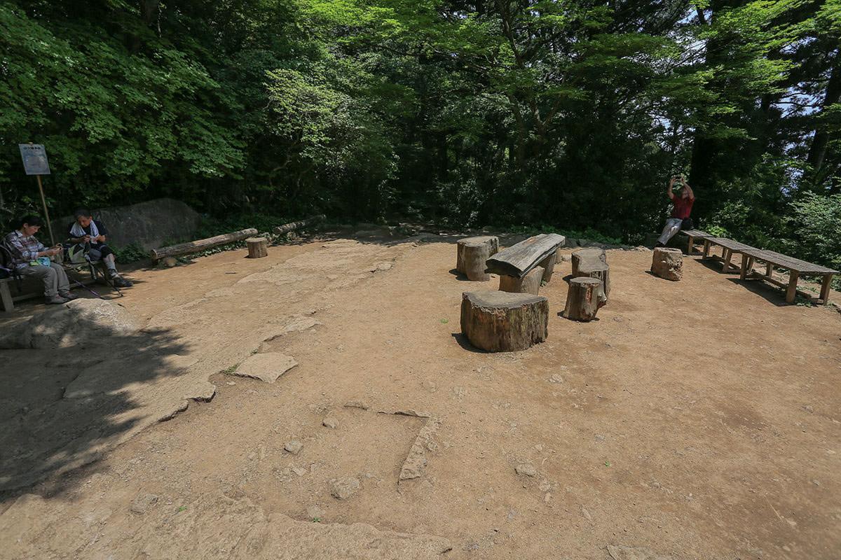 【筑波山 白雲橋コース】登山百景-つつじヶ丘に到着