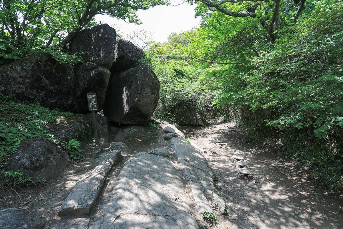 【筑波山 白雲橋コース】登山百景-出船入船