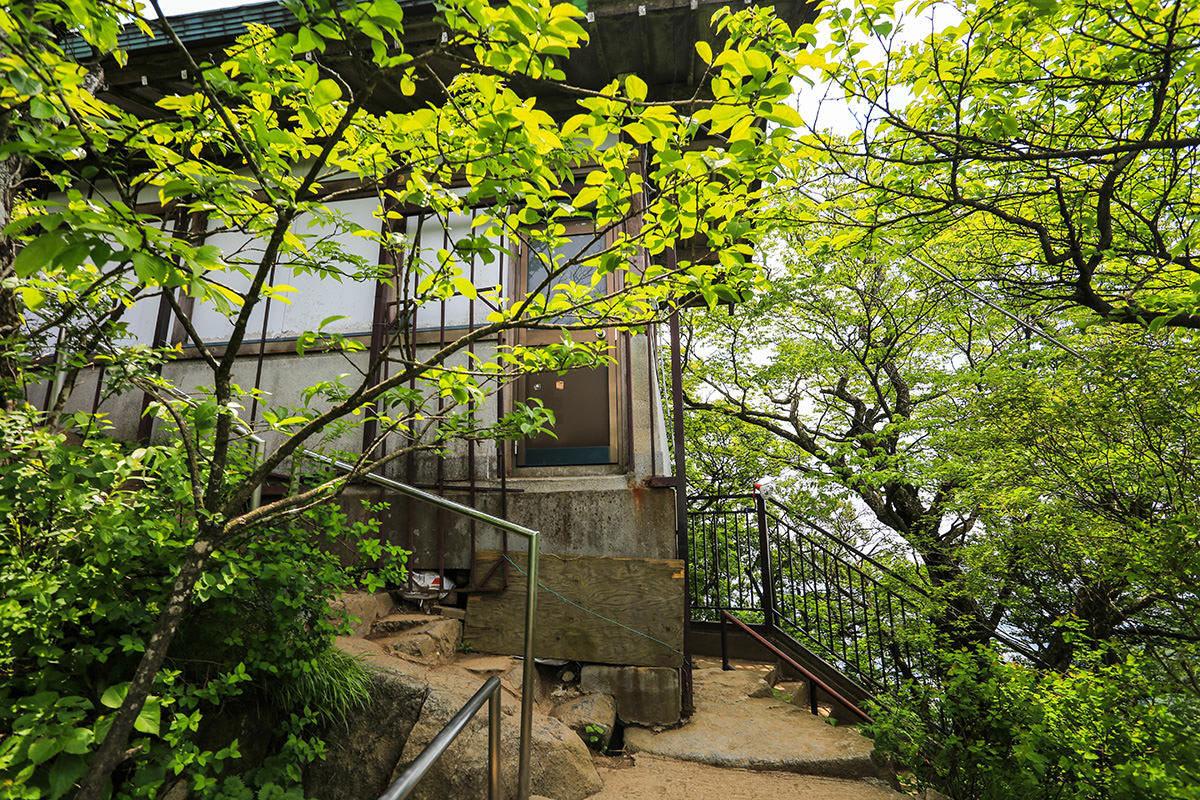 【筑波山 白雲橋コース】登山百景-山頂の建物