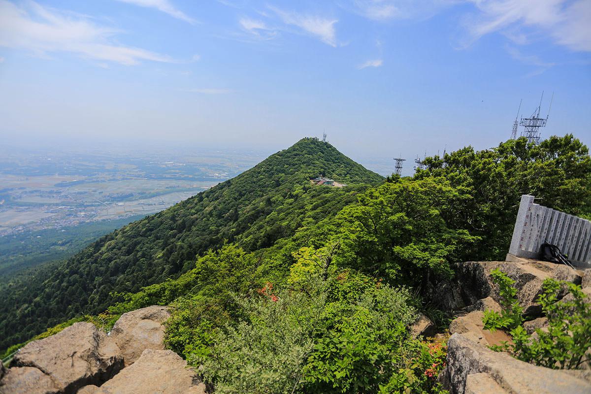 【筑波山 白雲橋コース】登山百景-男体山