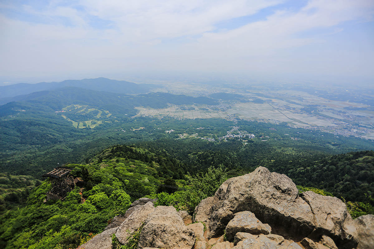 【筑波山 白雲橋コース】登山百景-西の方