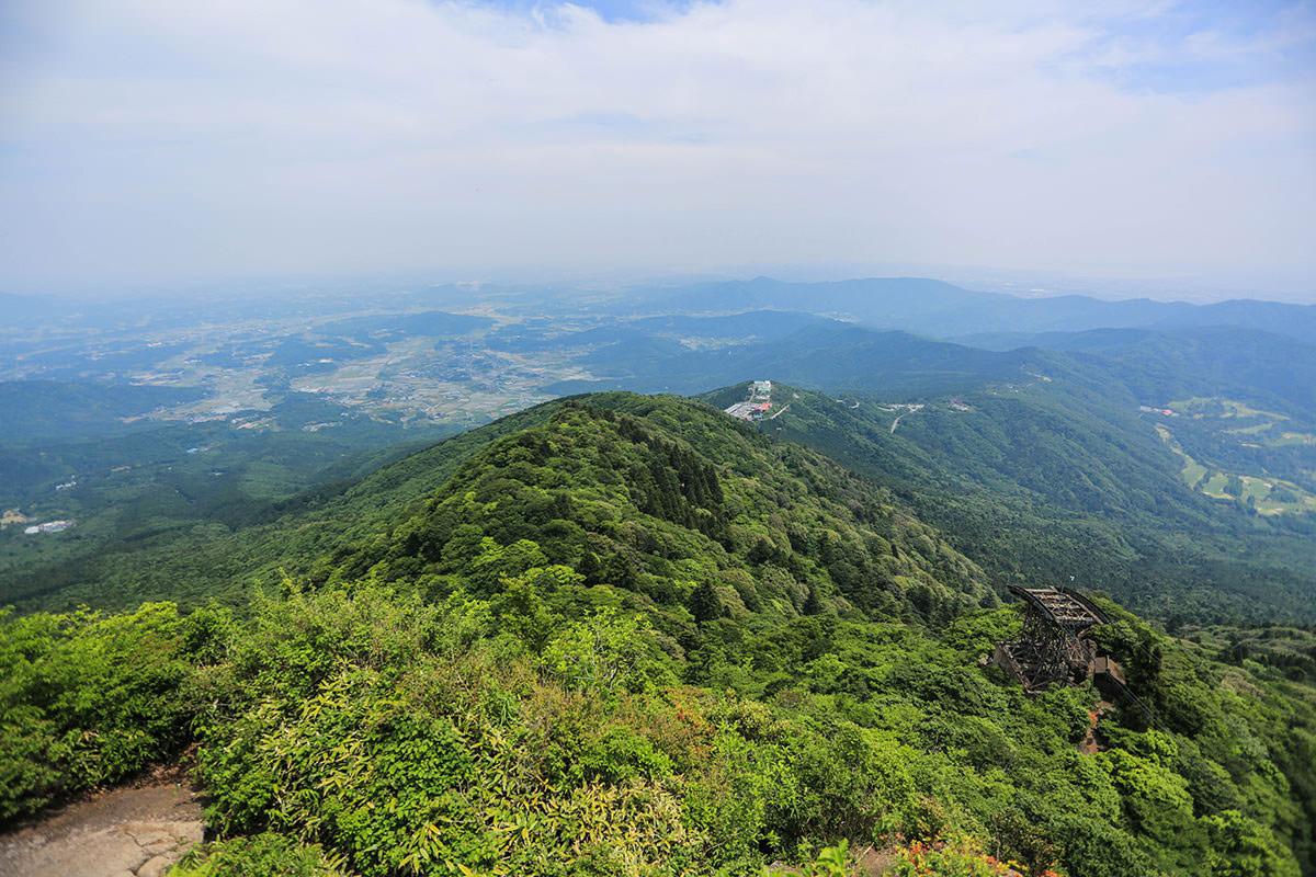 【筑波山 白雲橋コース】登山百景-東の方