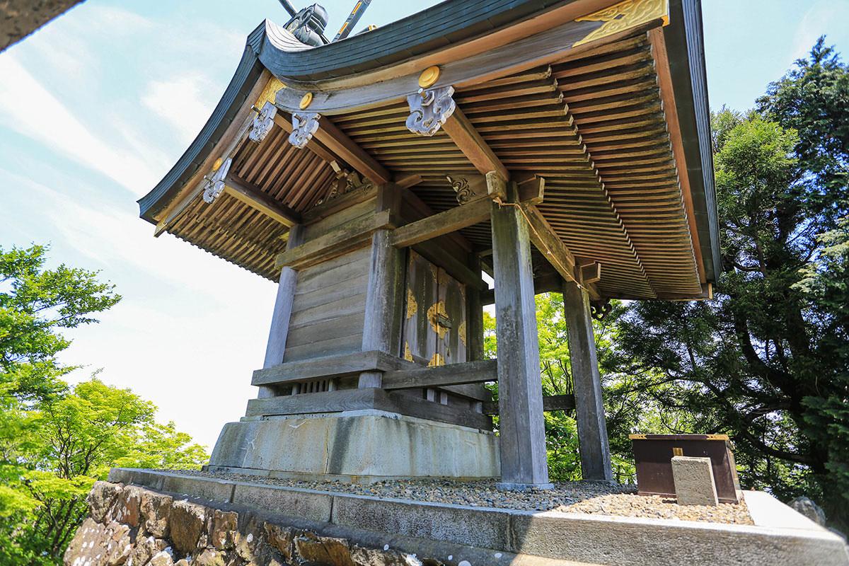 【筑波山 白雲橋コース】登山百景-山頂の社殿