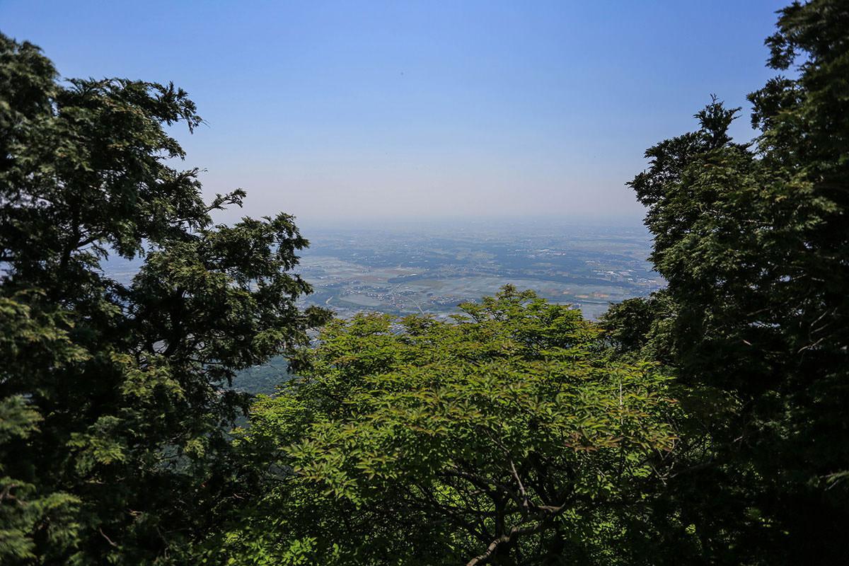 【筑波山】登山百景-男体山からの景色