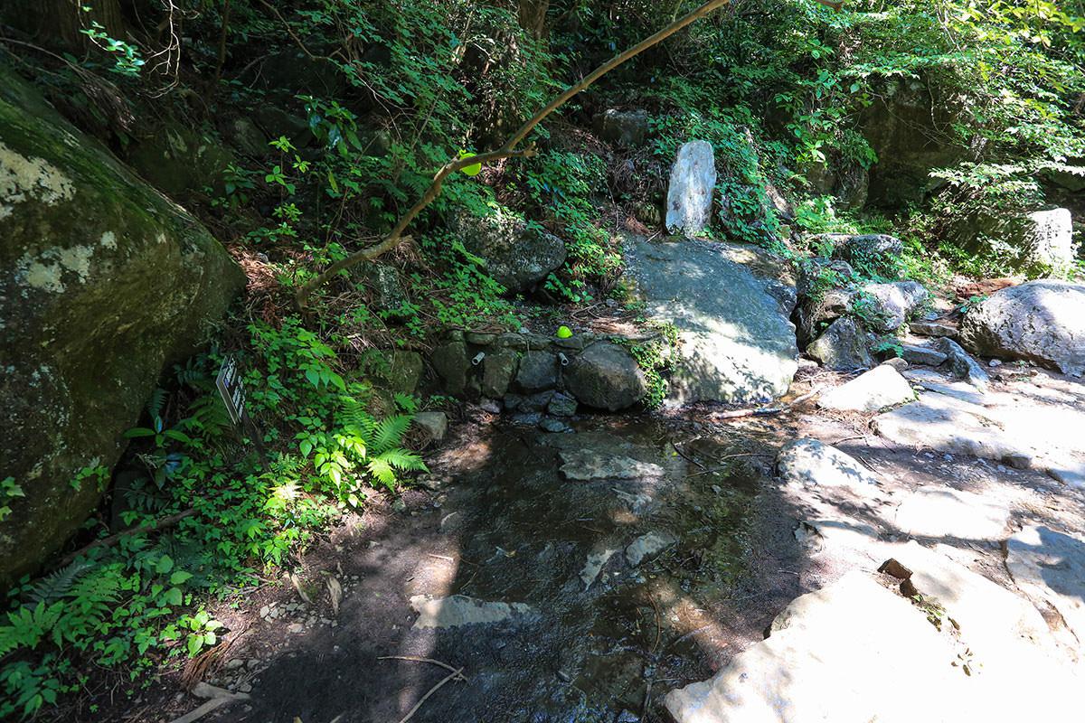 【筑波山】登山百景-男女川の源流付近