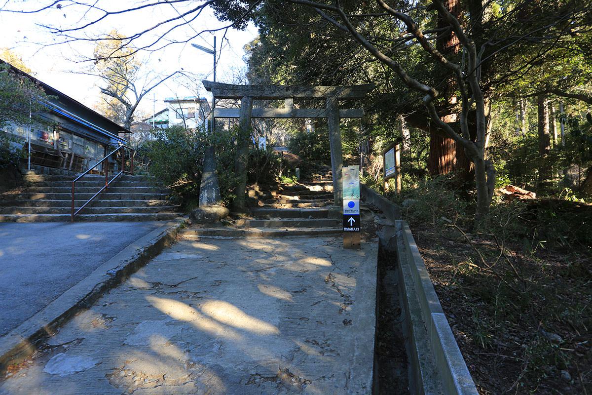 【筑波山】登山百景-ココから登る