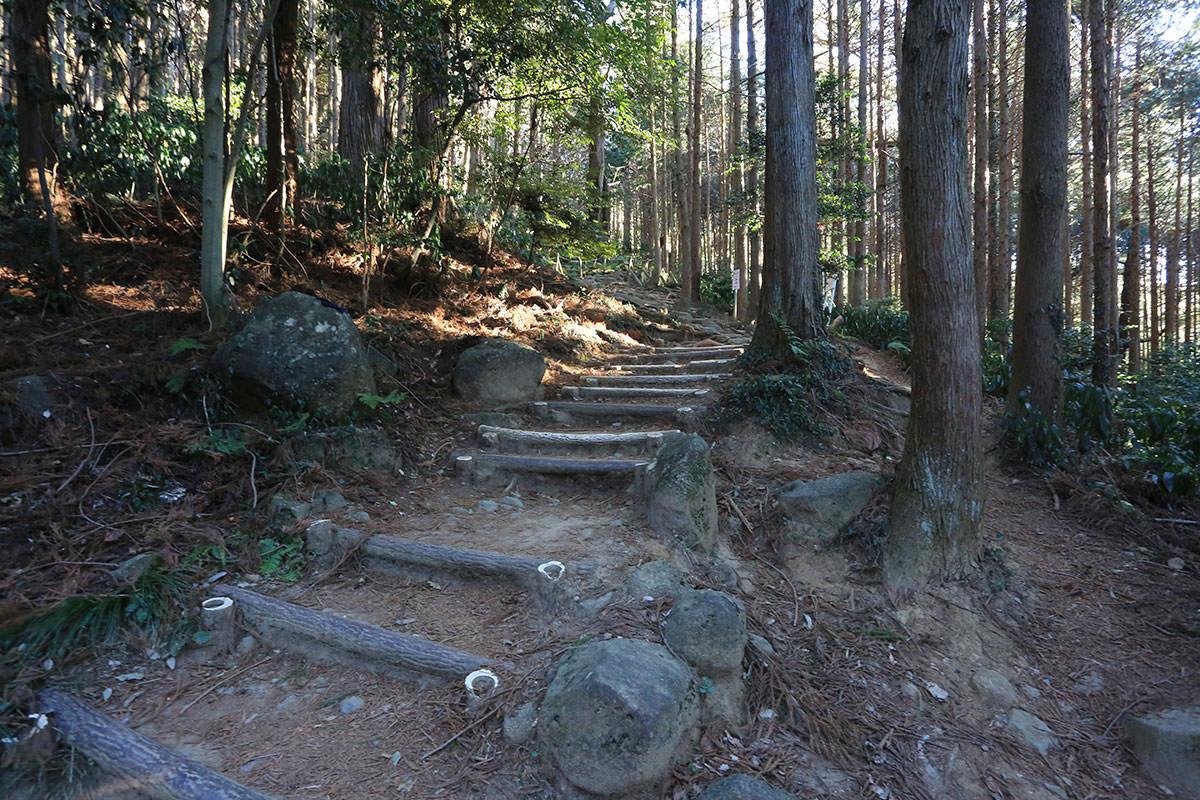 【筑波山】登山百景-階段スタート