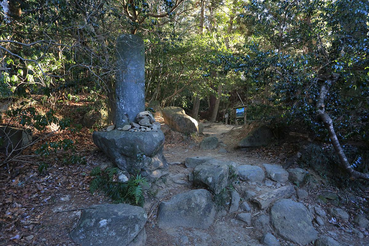 【筑波山】登山百景-ひと息つける場所