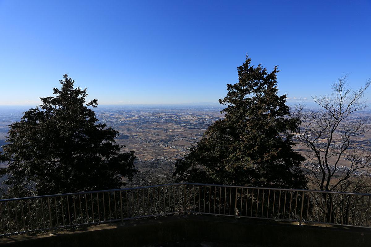【筑波山】登山百景-南側の眺め
