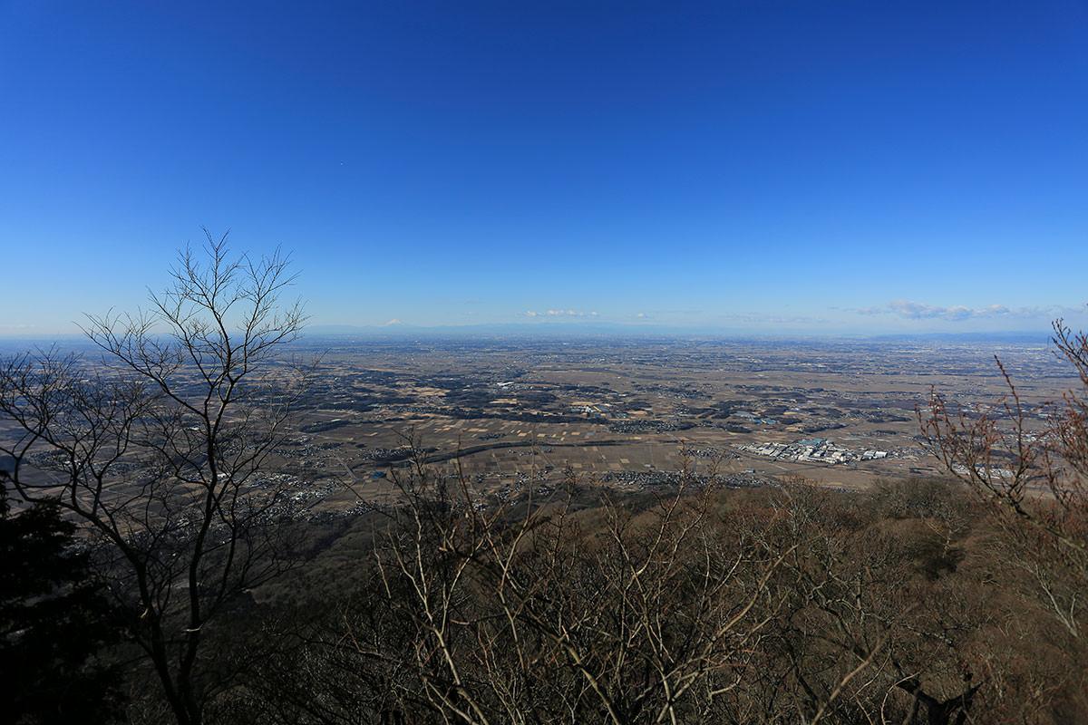 【筑波山】登山百景-富士山が見える