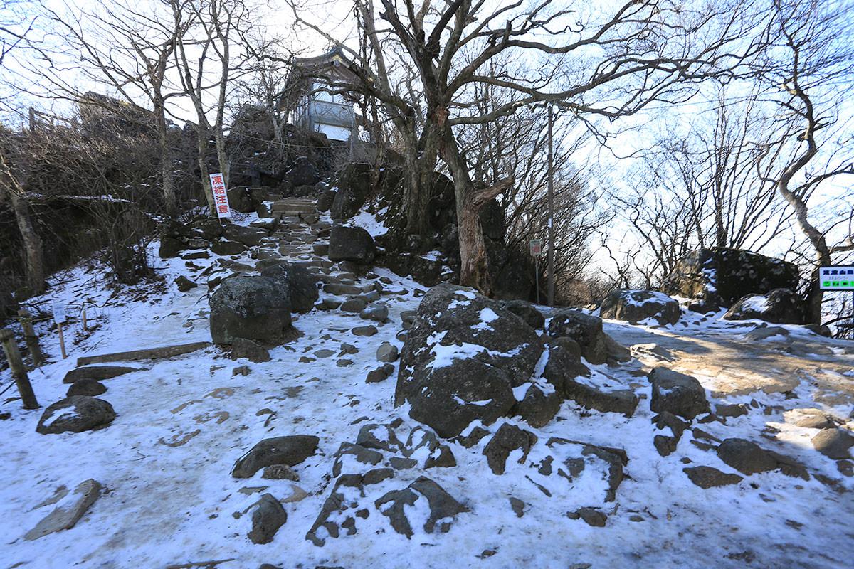 【筑波山】登山百景-山頂はそこ