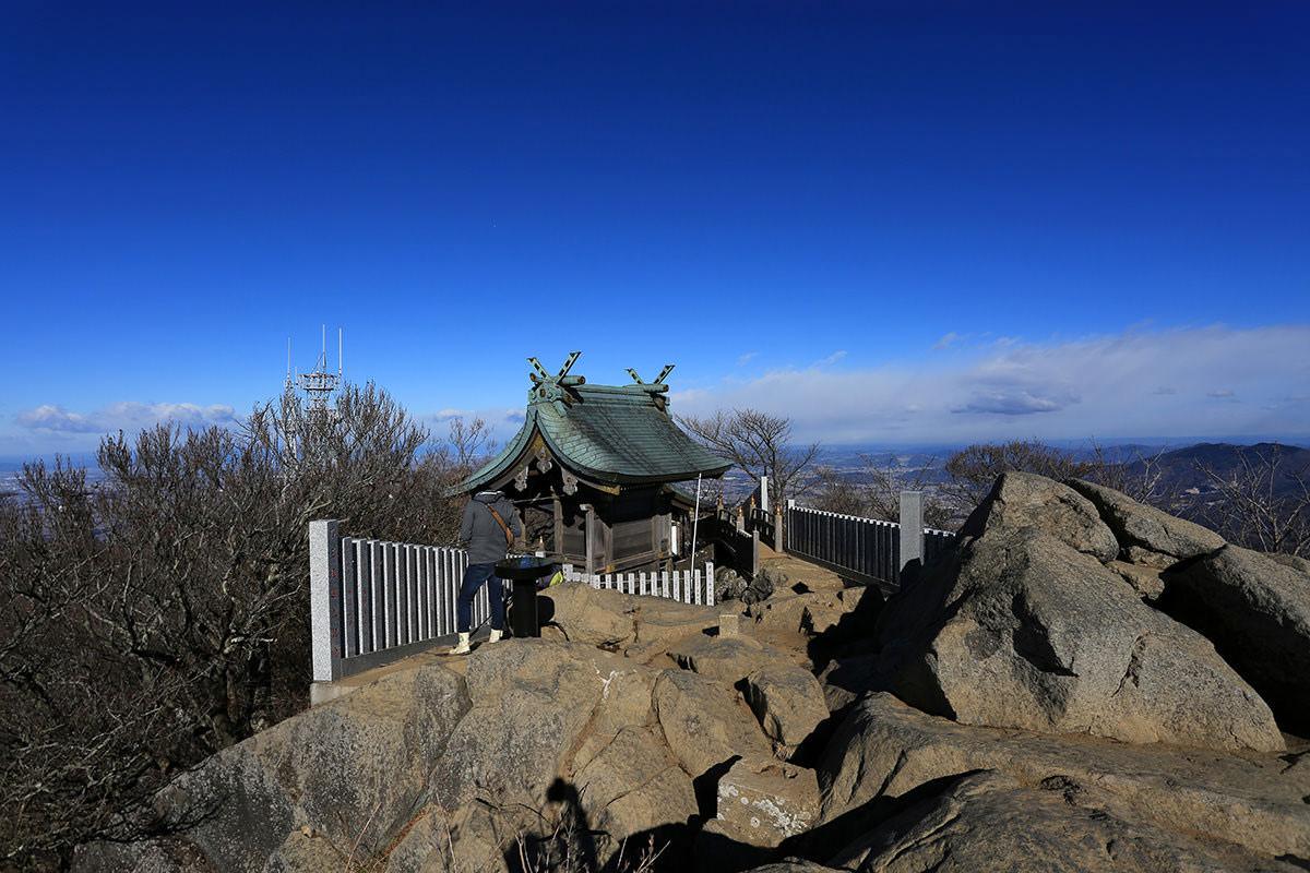 【筑波山】登山百景-山頂部