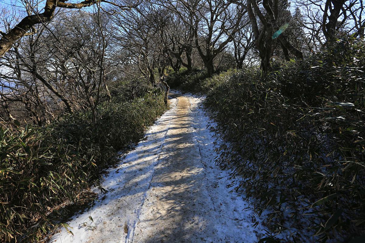 【筑波山】登山百景-雪は少し