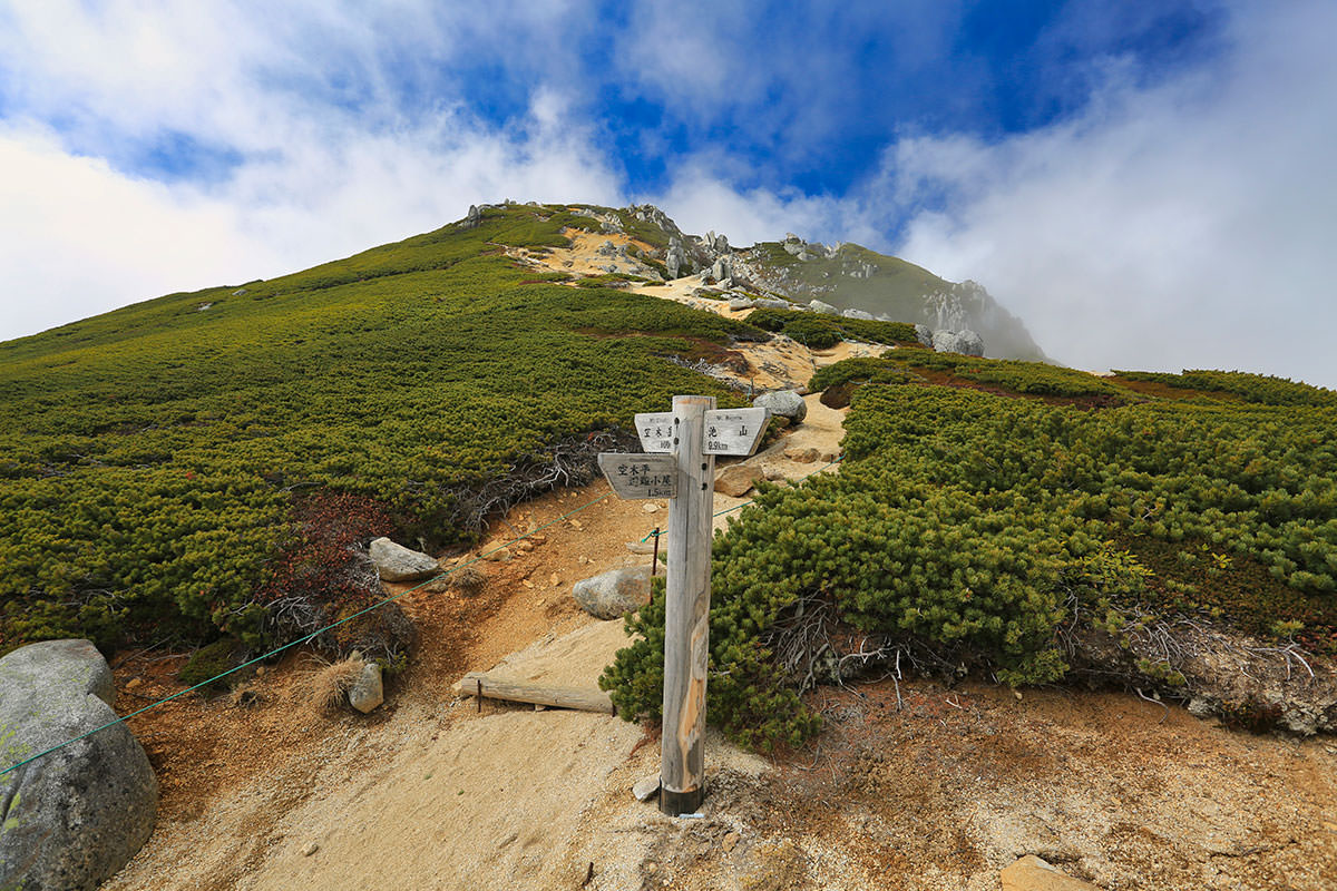 【空木岳】登山百景-山頂まであと100m