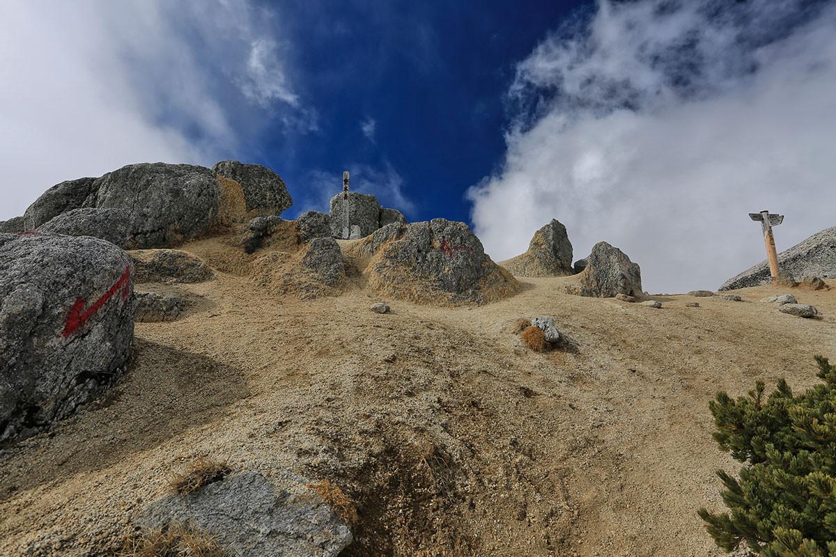 【空木岳】登山百景-山頂まであと少し