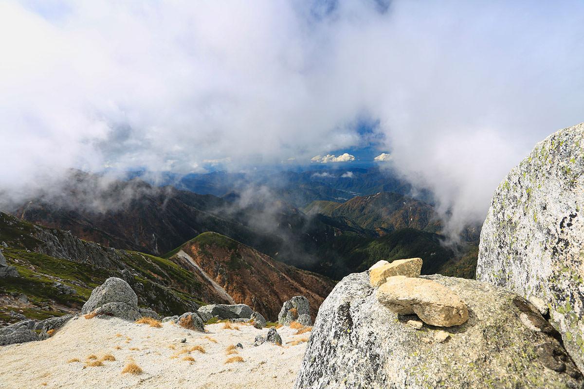 【空木岳】登山百景-木曽方面