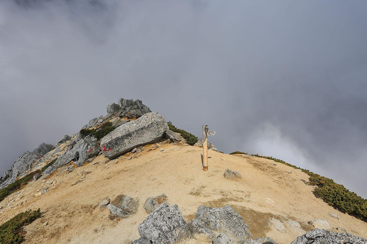 【空木岳】登山百景-空木岳山頂