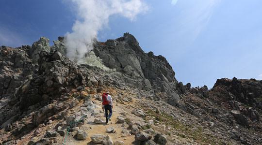 焼岳 中ノ湯登山口