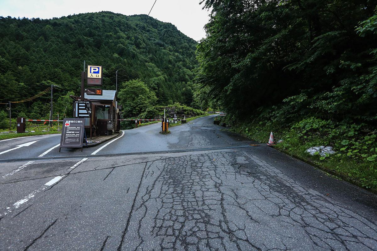 槍ヶ岳-ココから長い槍ヶ岳への登山道が始まる