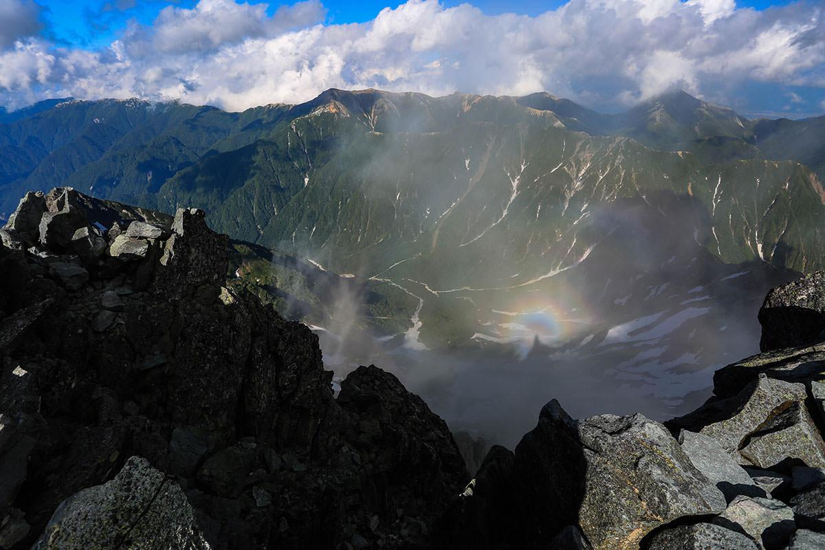槍ヶ岳-常念山脈