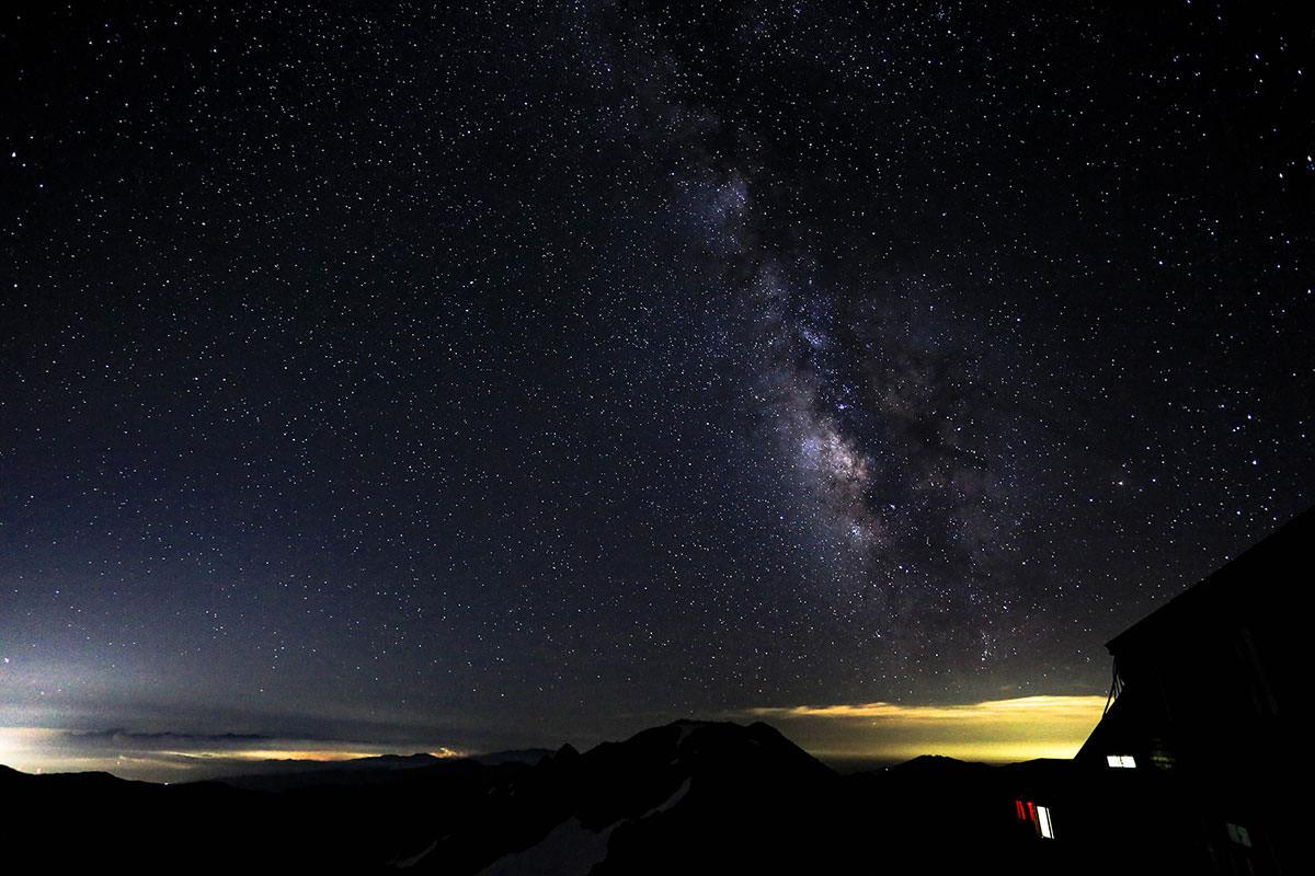 槍ヶ岳-南の空