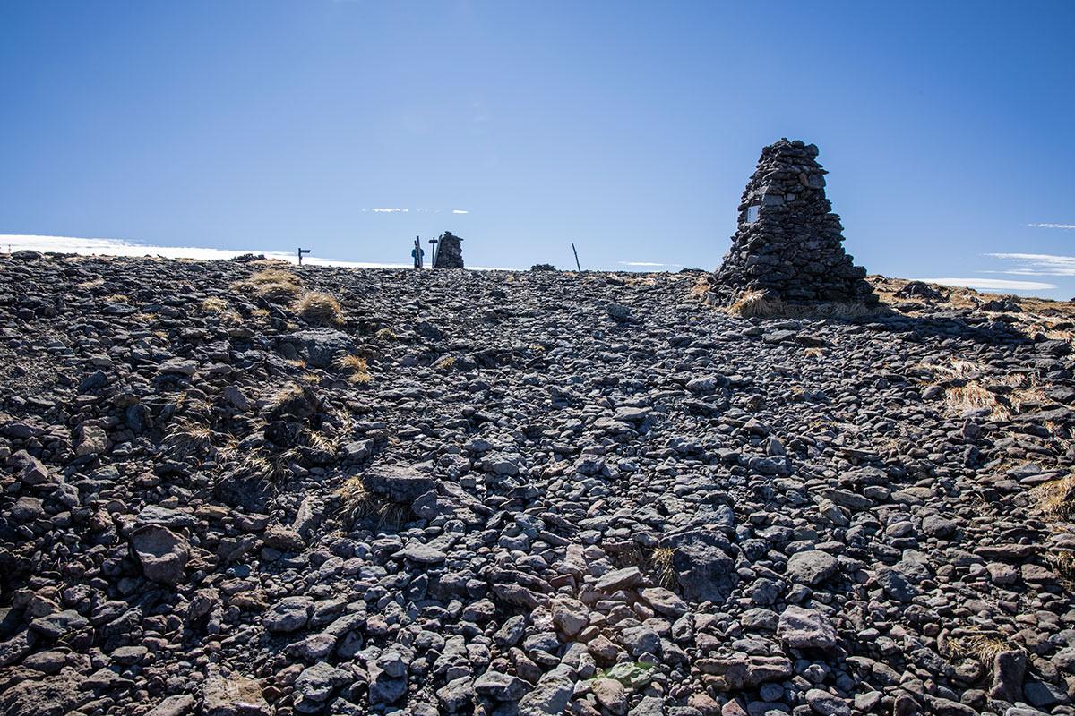 ようやく硫黄岳山頂へ