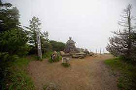 横手山神社に着いた