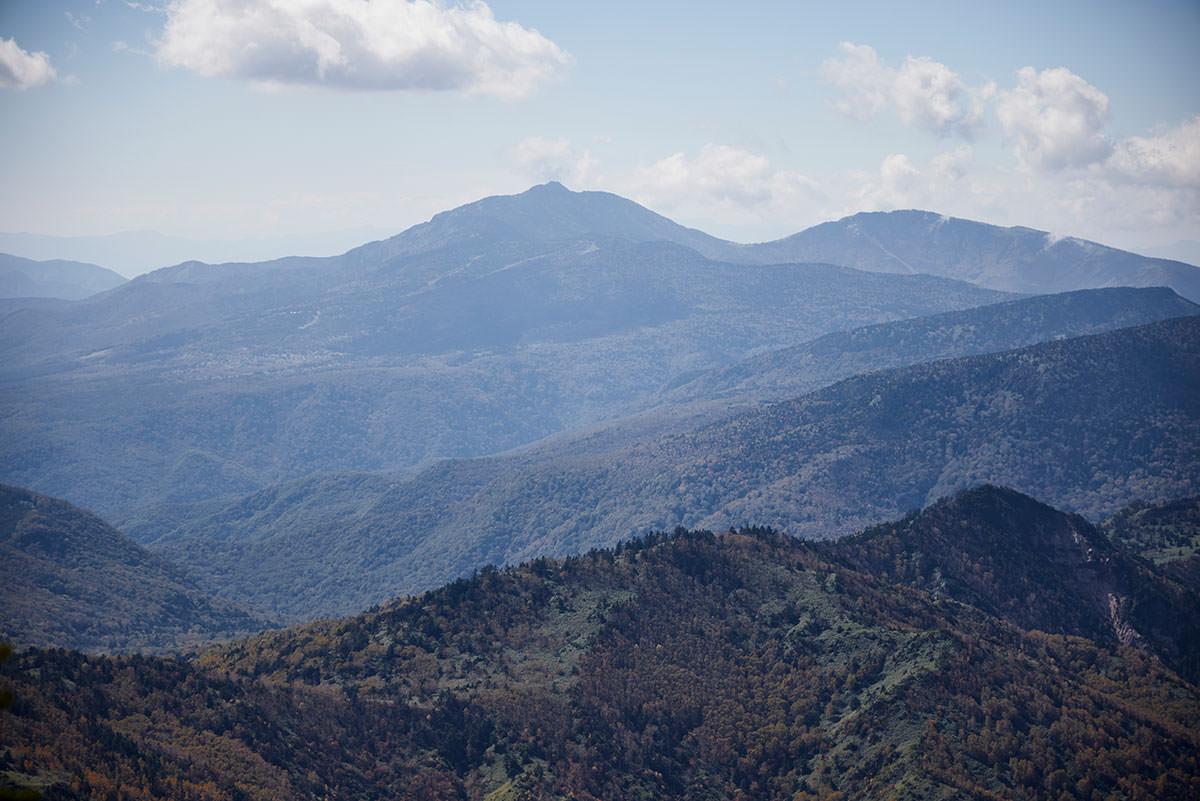 志賀高原横手山-四阿山と根子岳