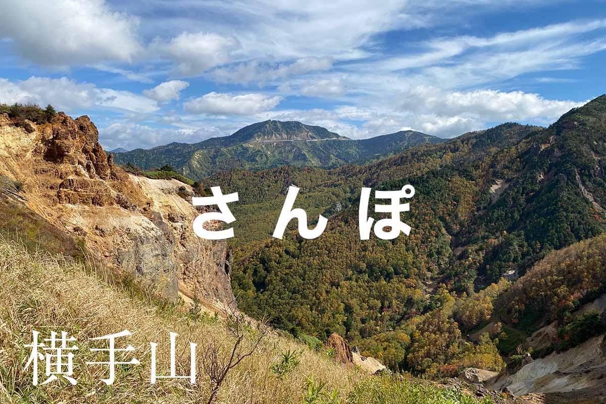 渋峠から横手山への志賀高原散歩